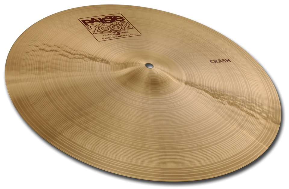 "Fotografie Paiste 16"" 2002 Crash"