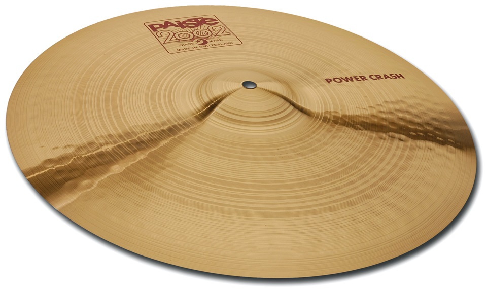 "Fotografie Paiste 17"" 2002 Power Crash"