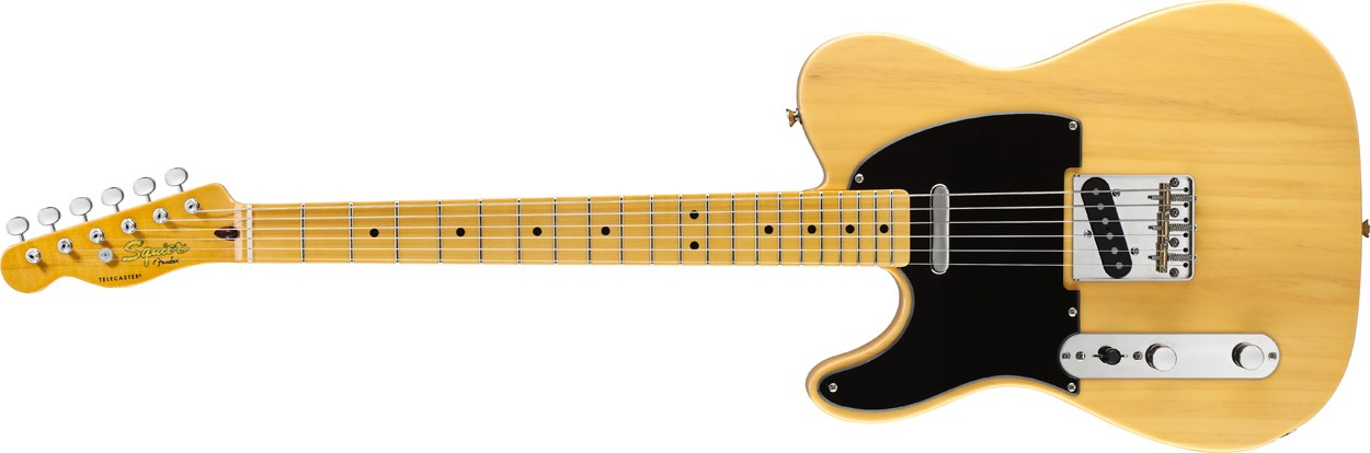 Fender Squier Classic Vibe Telecaster 50s LH MN BB