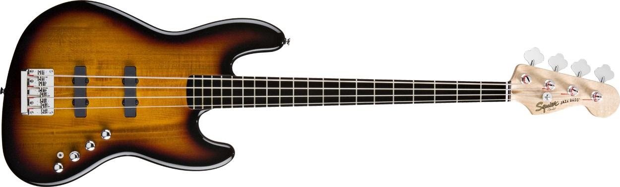 Fender Squier Deluxe Jazz Bass Active EB 3SB