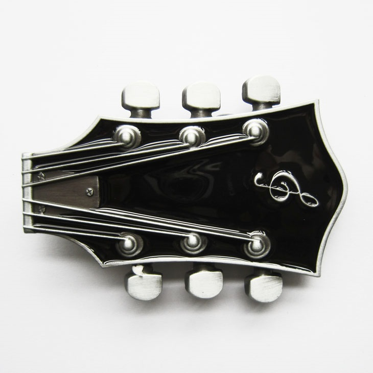 Kytary.cz Spona kytarová hlava černá