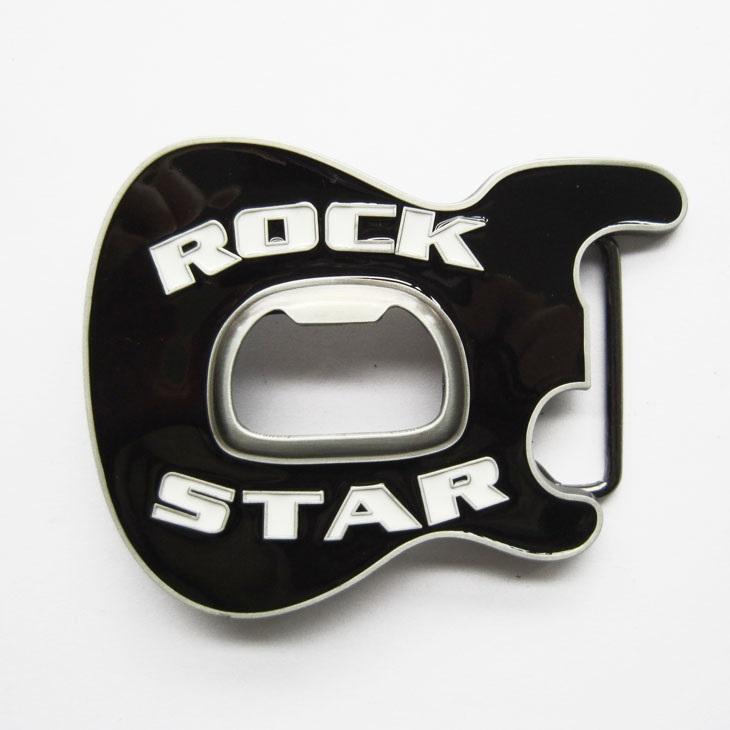 Kytary.cz Spona kytarová hlava RockStar černá