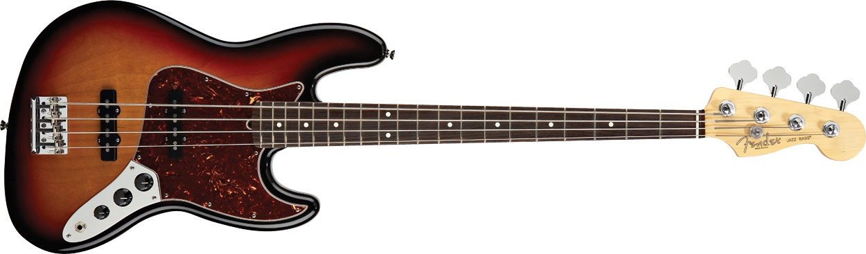 Fender American Standard Jazz Bass RW 3SB