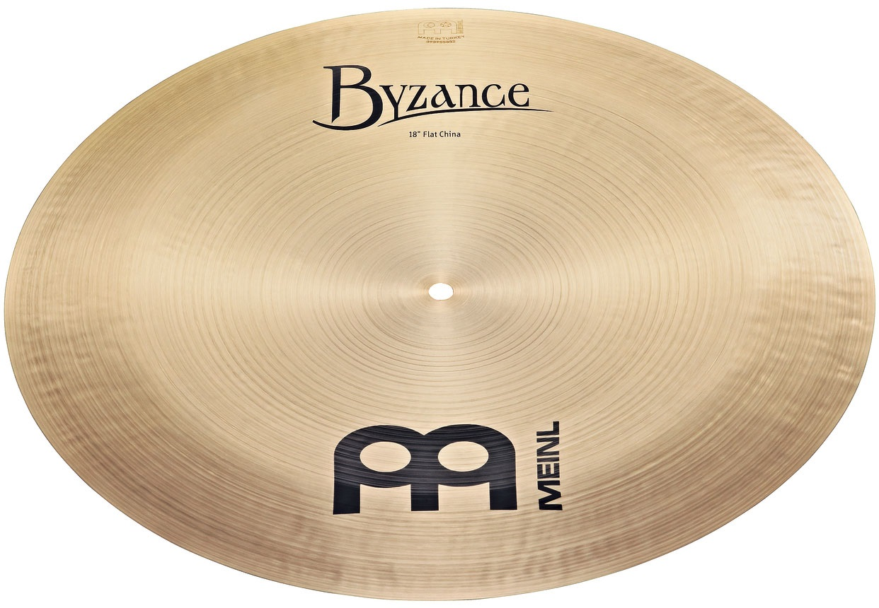 "Meinl 18"" Byzance Traditional Flat China"