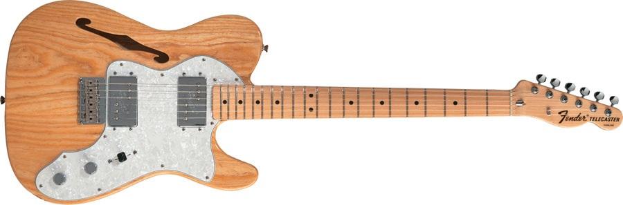Fender 72 Telecaster Thinline MN NA