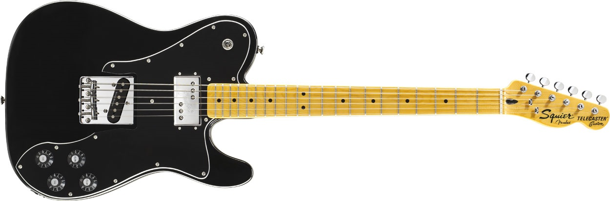 Fender Squier Vintage Modified Telecaster Custom MN BK