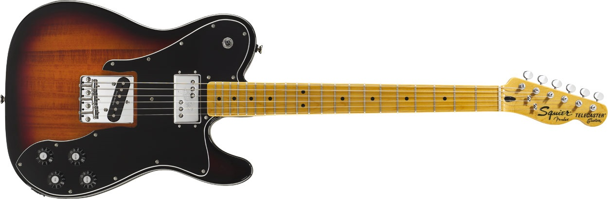 Fender Squier Vintage Modified Telecaster Custom MN 3SB
