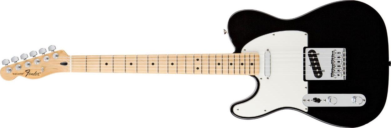 Fender Standard Telecaster LH MN BK