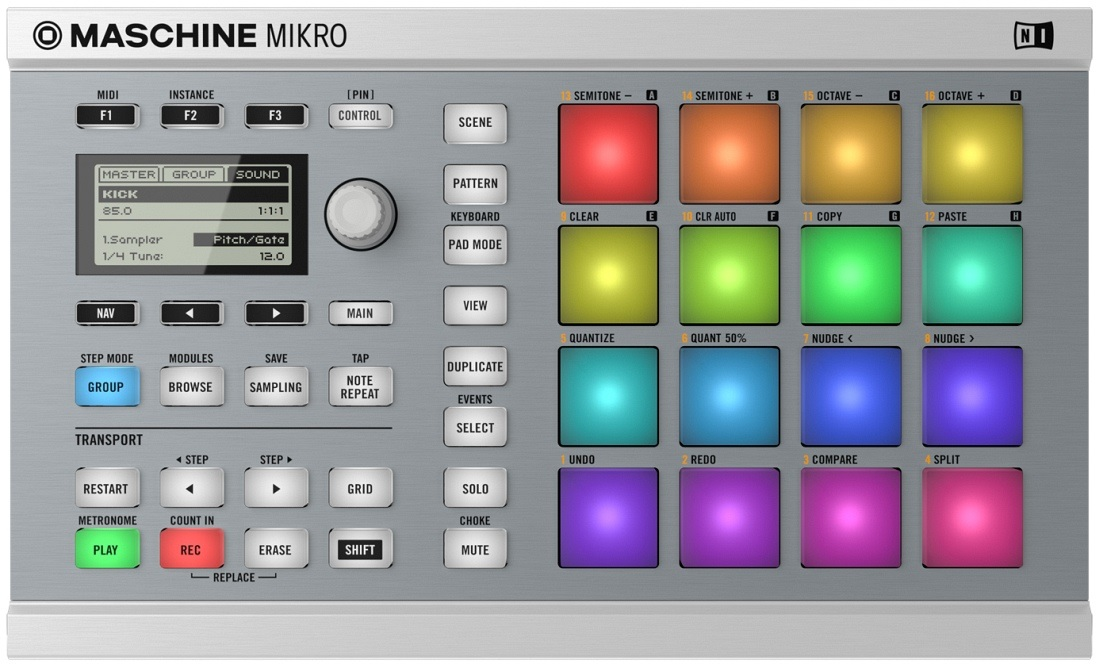 Native Instruments Maschine Mikro MK2 WH