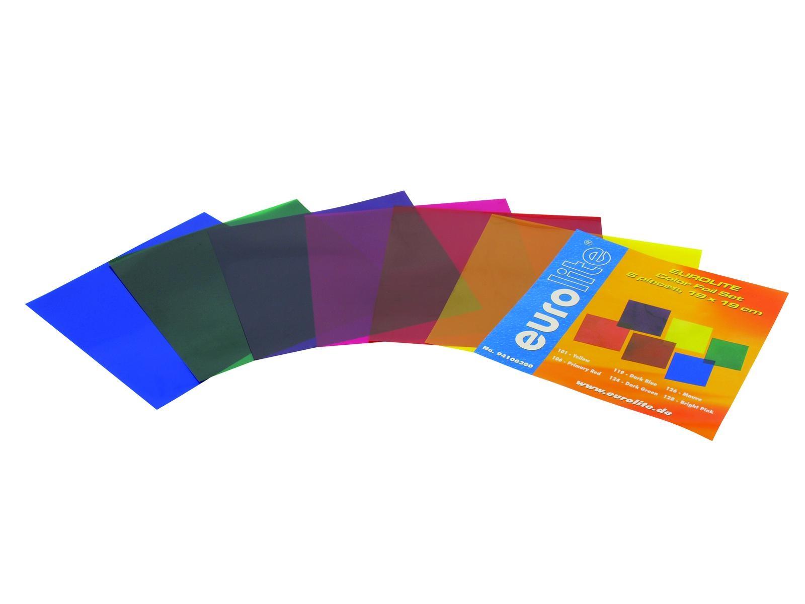 Eurolite SET barevné filtry 56 - 6 barev