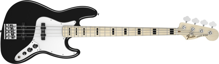 Fender Geddy Lee Jazz Bass MN BK