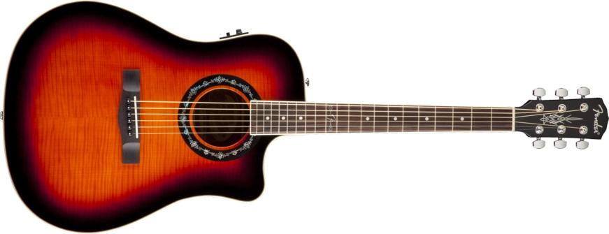 Fender T-bucket 300CE 3CSB (použité)