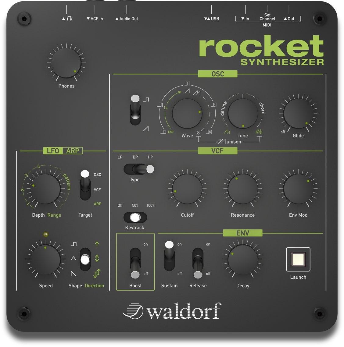 Fotografie Waldorf Rocket