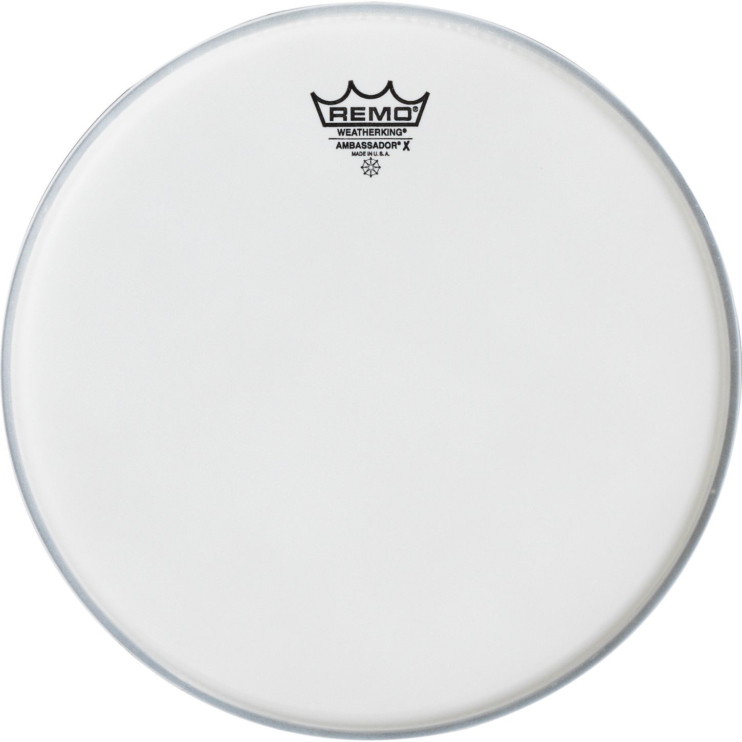 "Remo 15"" Ambassador X Coated"