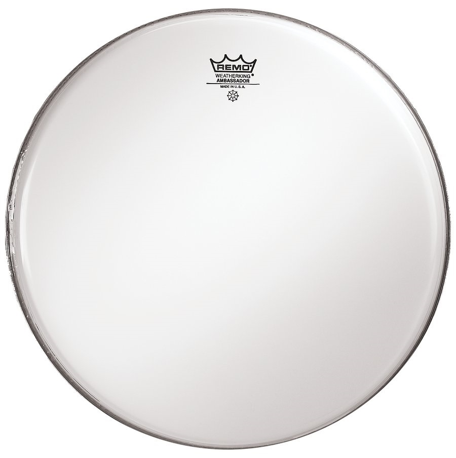 "Remo 12"" Ambassador Smooth White"