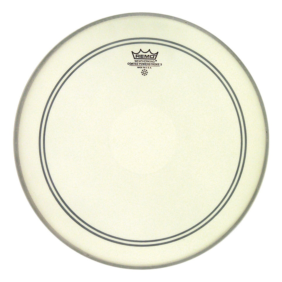 """Remo 13"""" Powerstroke 3 Coated Clear Dot"""