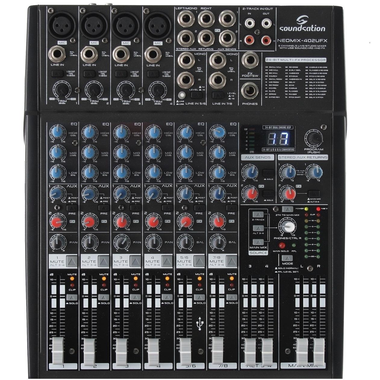 Soundsation NEOMIX 402UFX