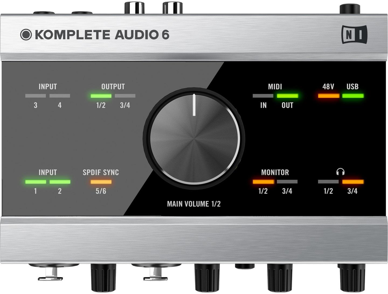 Native Instruments Komplete Audio 6 (použité)
