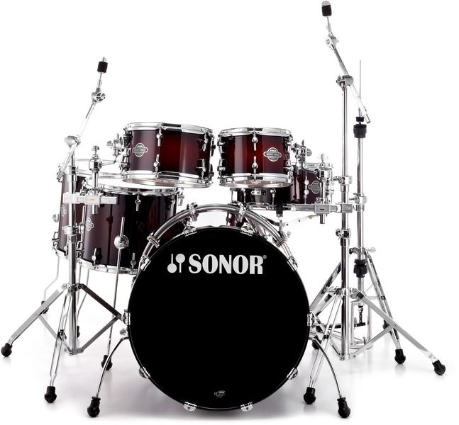 Sonor Select force S drive set Smooth Brown Burst