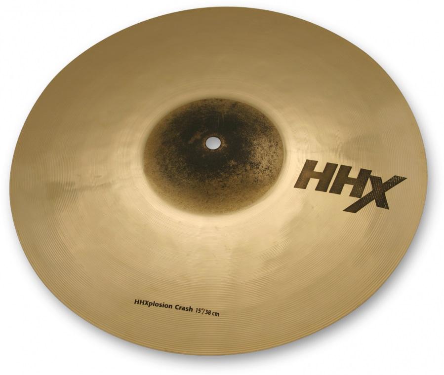 "Sabian 15"" HHX X-Plosion Crash"