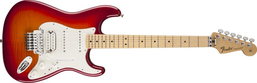 Fender Standard Stratocaster HSS Plus Top LT MN ACB