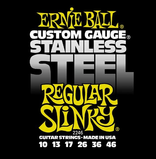 Ernie Ball Stainless Steel Regular Slinky
