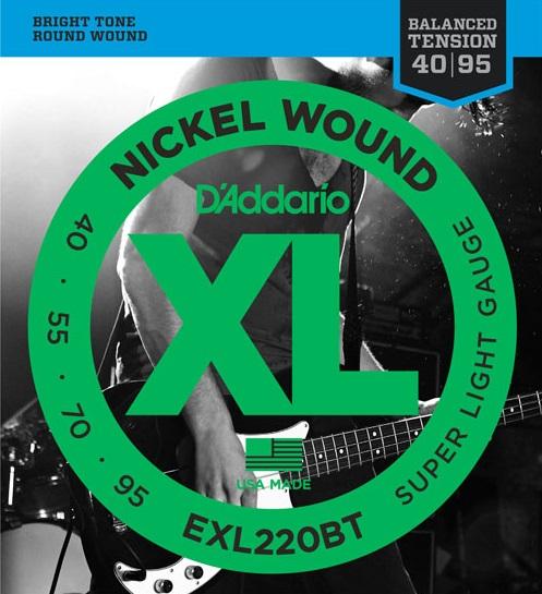 D'Addario EXL220BT