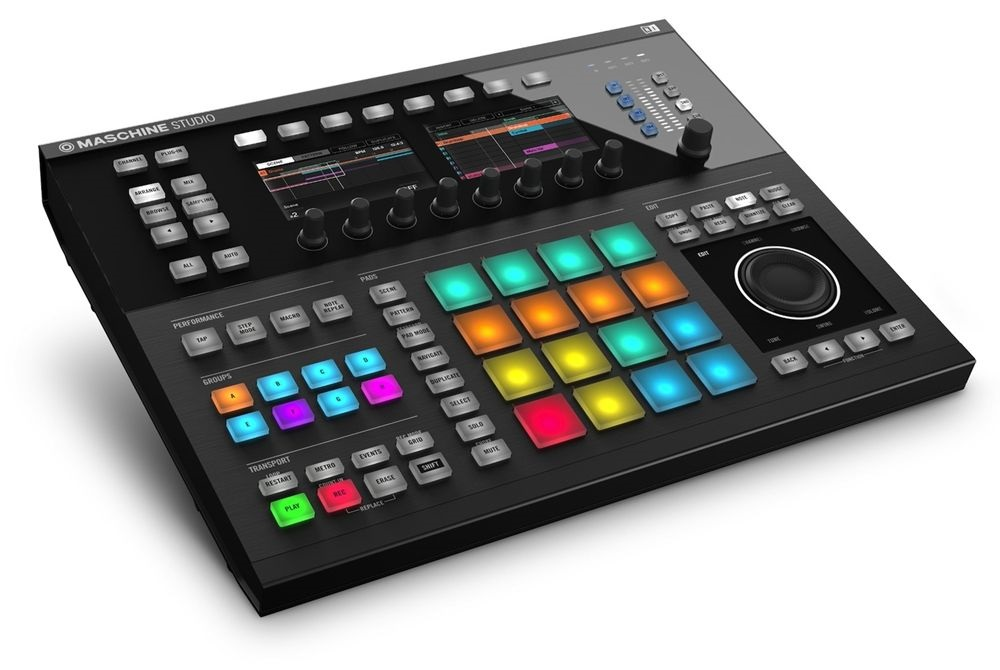 Fotografie Native Instruments Maschine Studio BK
