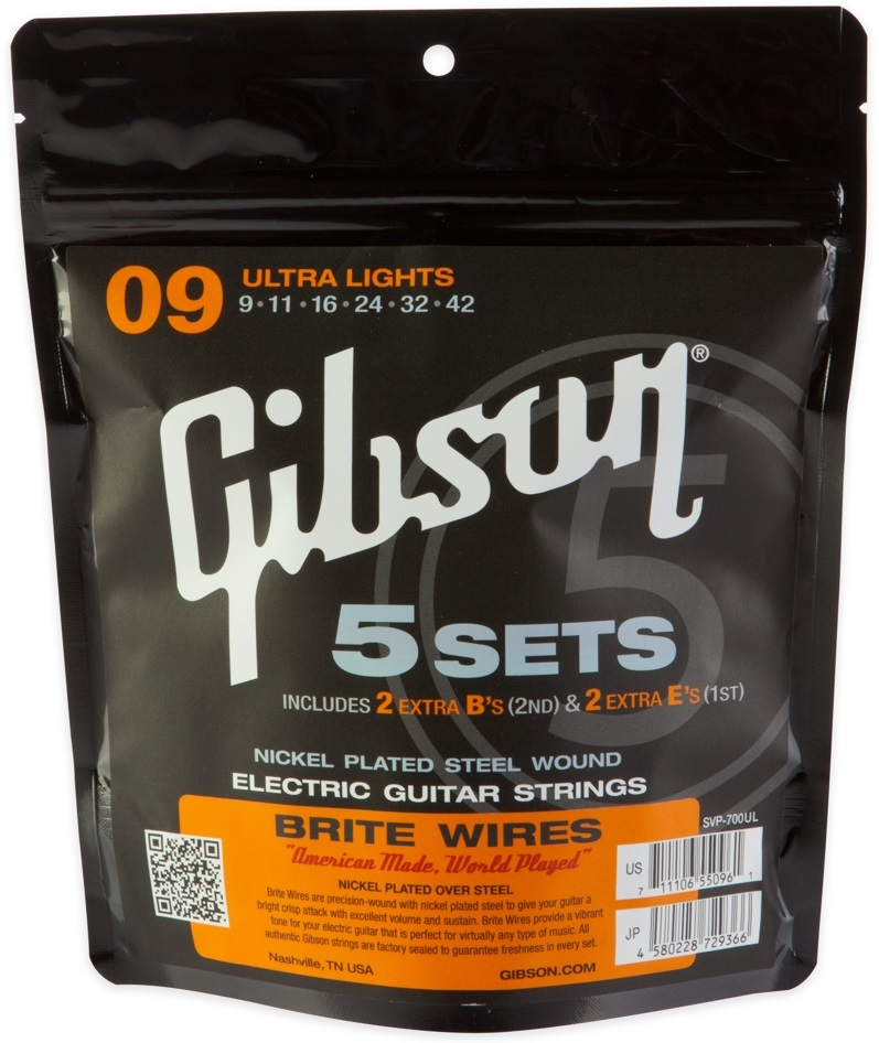 Gibson Brite Wires 700UL pack