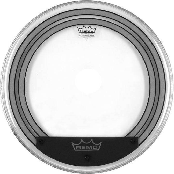 """Remo 24"""" Power Sonic Clear"""