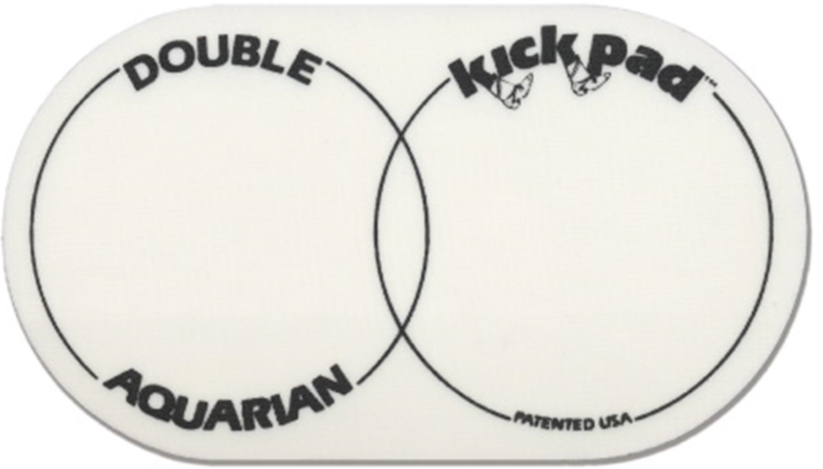 Aquarian DPK2 Double Kick Drum Pad