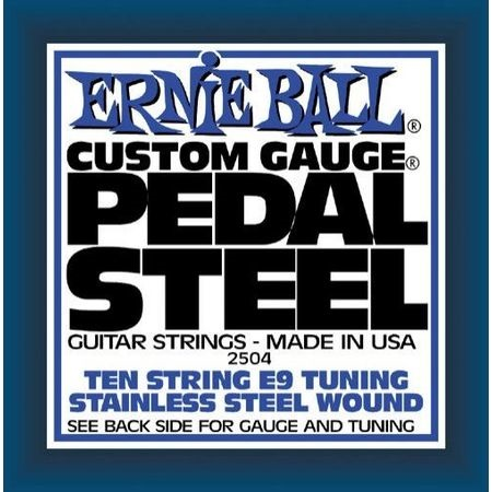 Ernie Ball Pedal Steel Stainless Steel 10-String E9