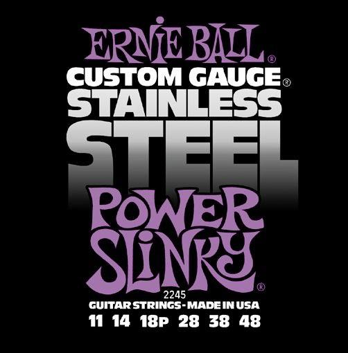 Ernie Ball Stainless Steel Power Slinky