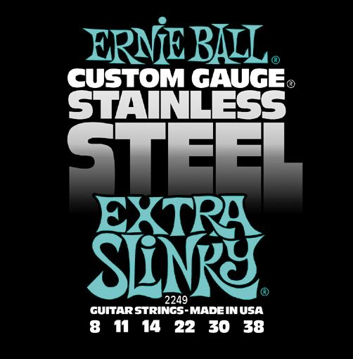 Ernie Ball Stainless Steel Extra Slinky