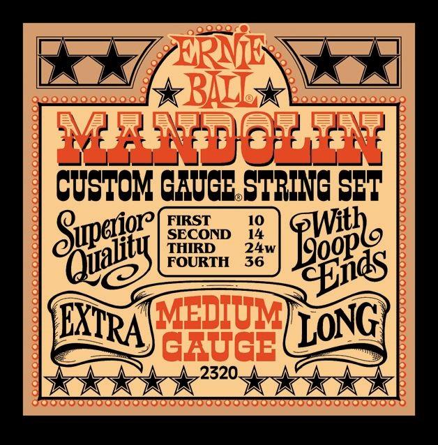 Ernie Ball Stainless Steel Mandolin Medium