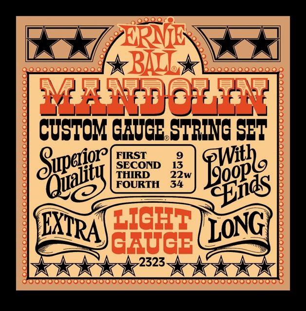 Ernie Ball Stainless Steel Mandolin Light