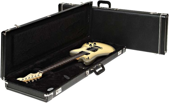 Fender Multi-Fit Case, Standard Black w/ Black Acrylic Interior JAG/JAZZ/TOR