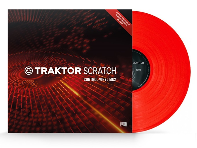 Native Instruments Control Vinyl MK2 Red