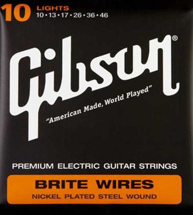 Fotografie Gibson Brite Wires G-700L
