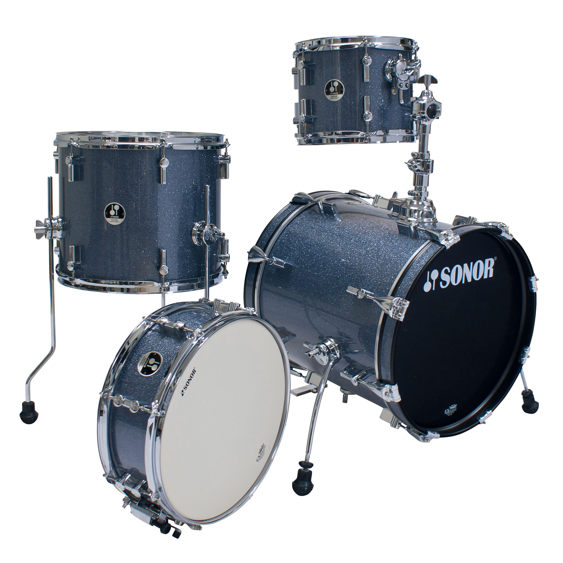 Sonor Safari Special Edition set Black Galaxy sparkle