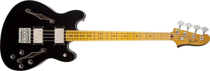 Fender Starcaster Bass MN BK