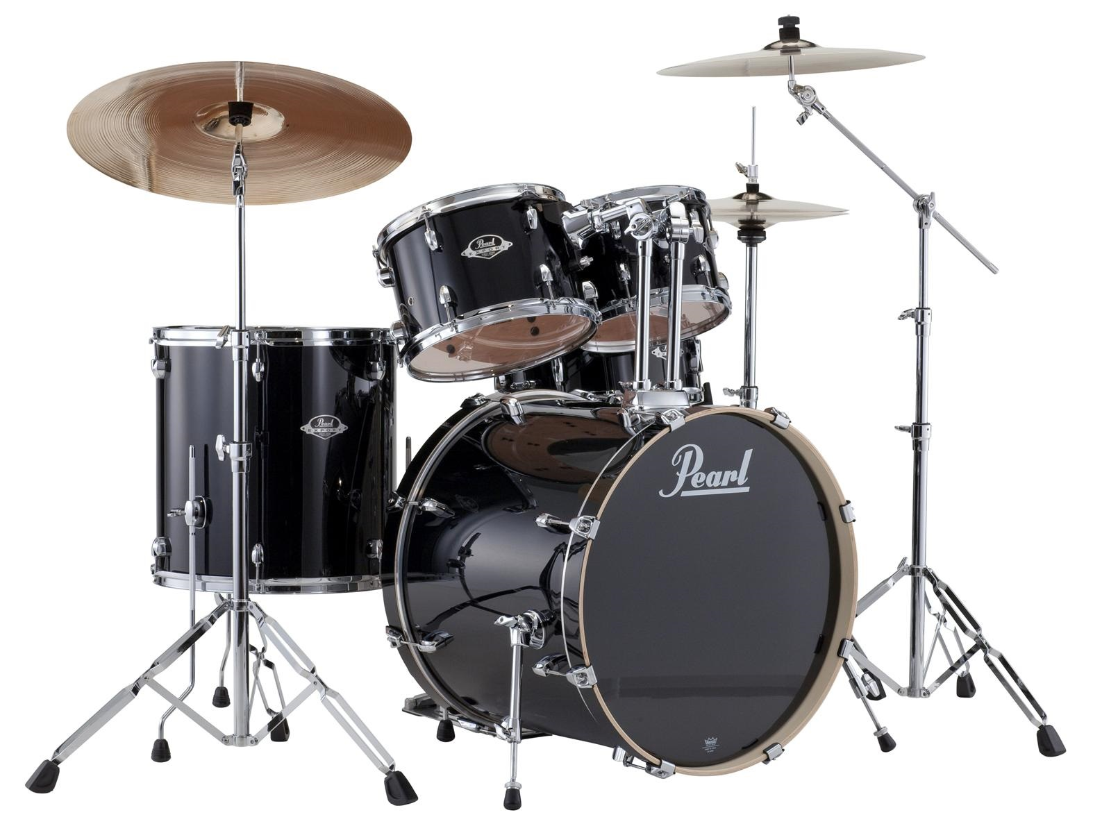 Pearl Export Fusion set Jet black