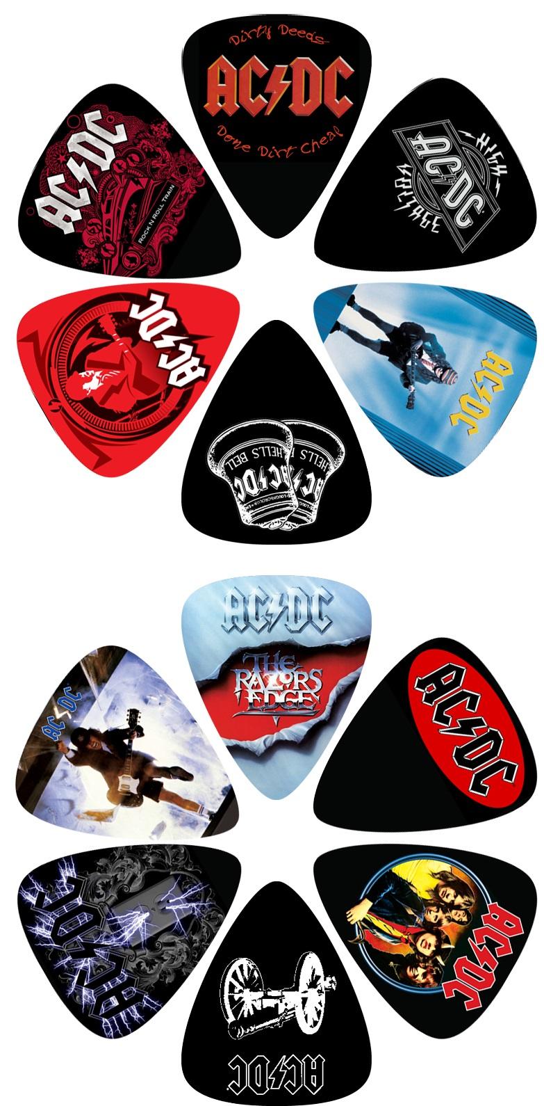 Perri's Leathers AC/DC Picks V