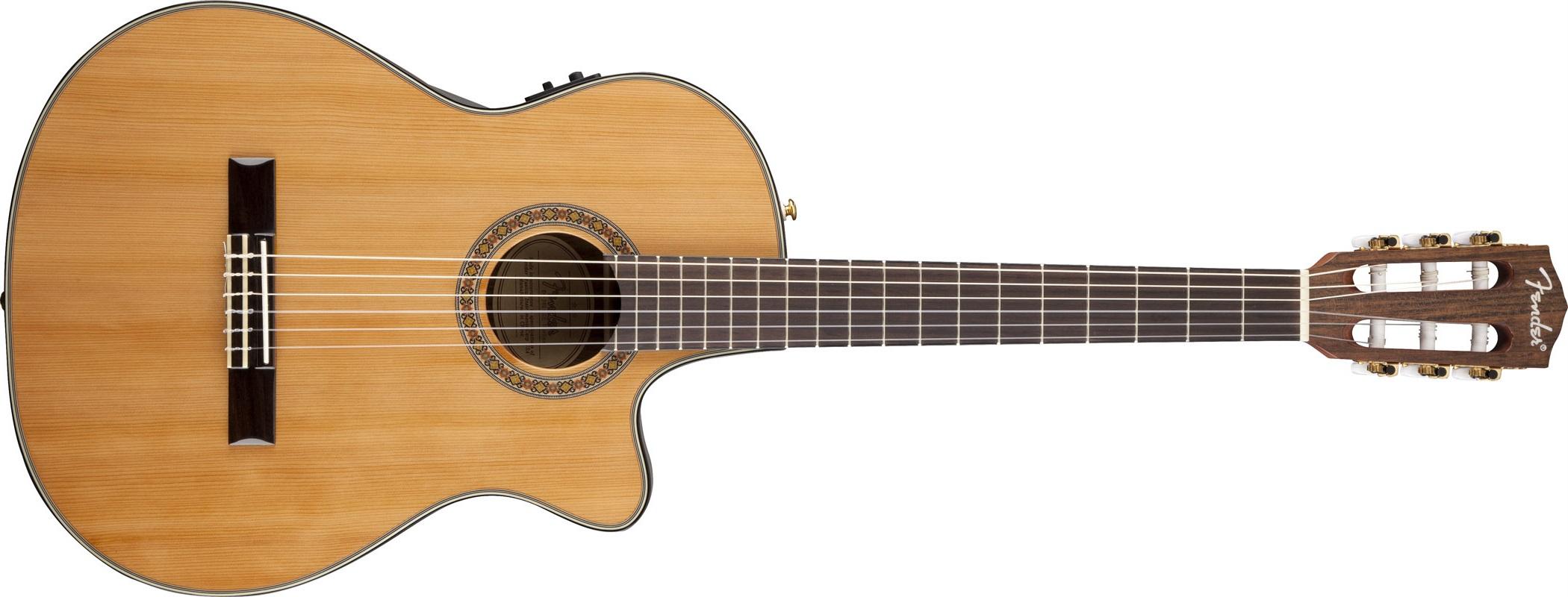 Fender CN-240 SCE Thinline NA