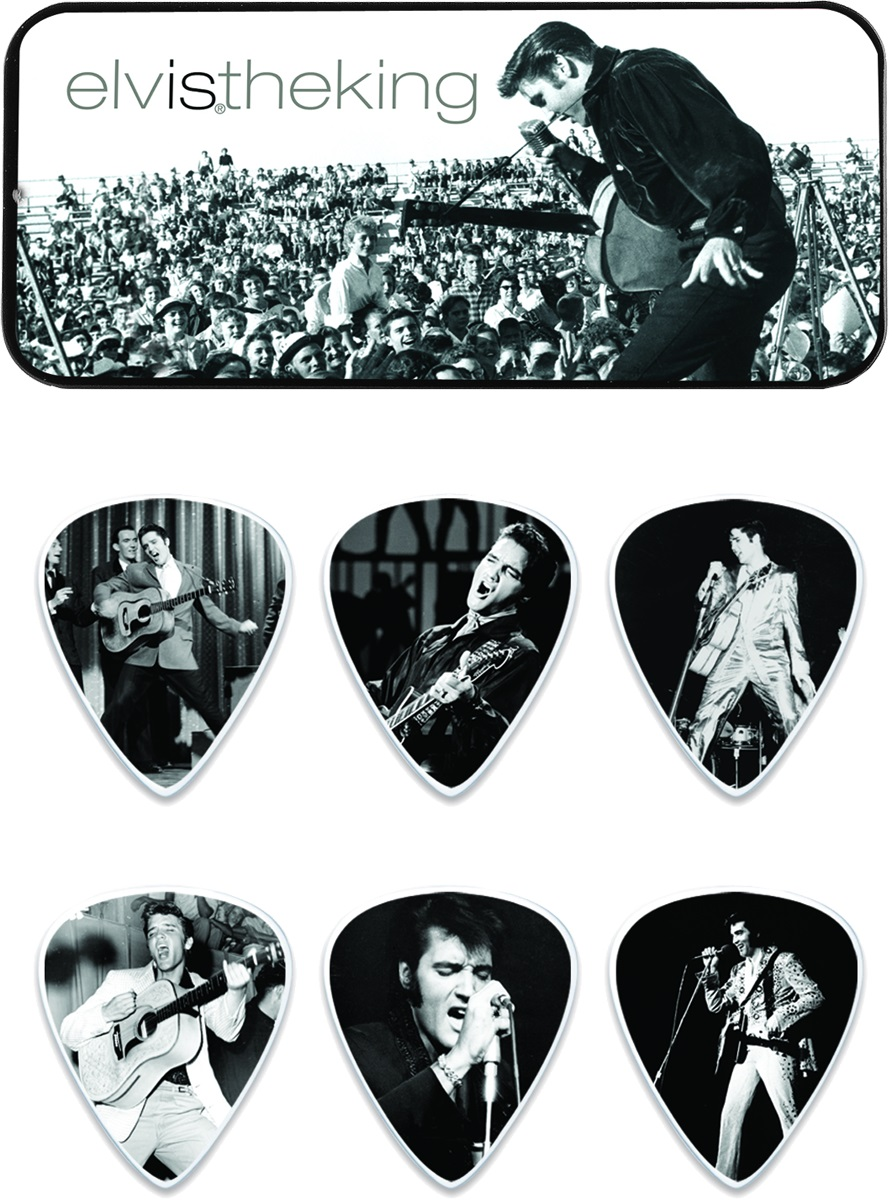 Dunlop Elvis Presley Pick Tin The King