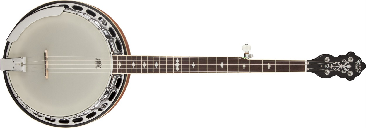 Gretsch G9400 Broadkaster Deluxe 5-String Resonator Banjo