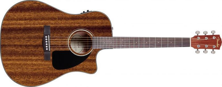 Fender CD-60 Mahagony CE NA