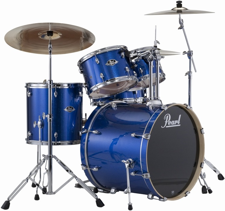 Pearl Export Studio set Electric blue sparkle