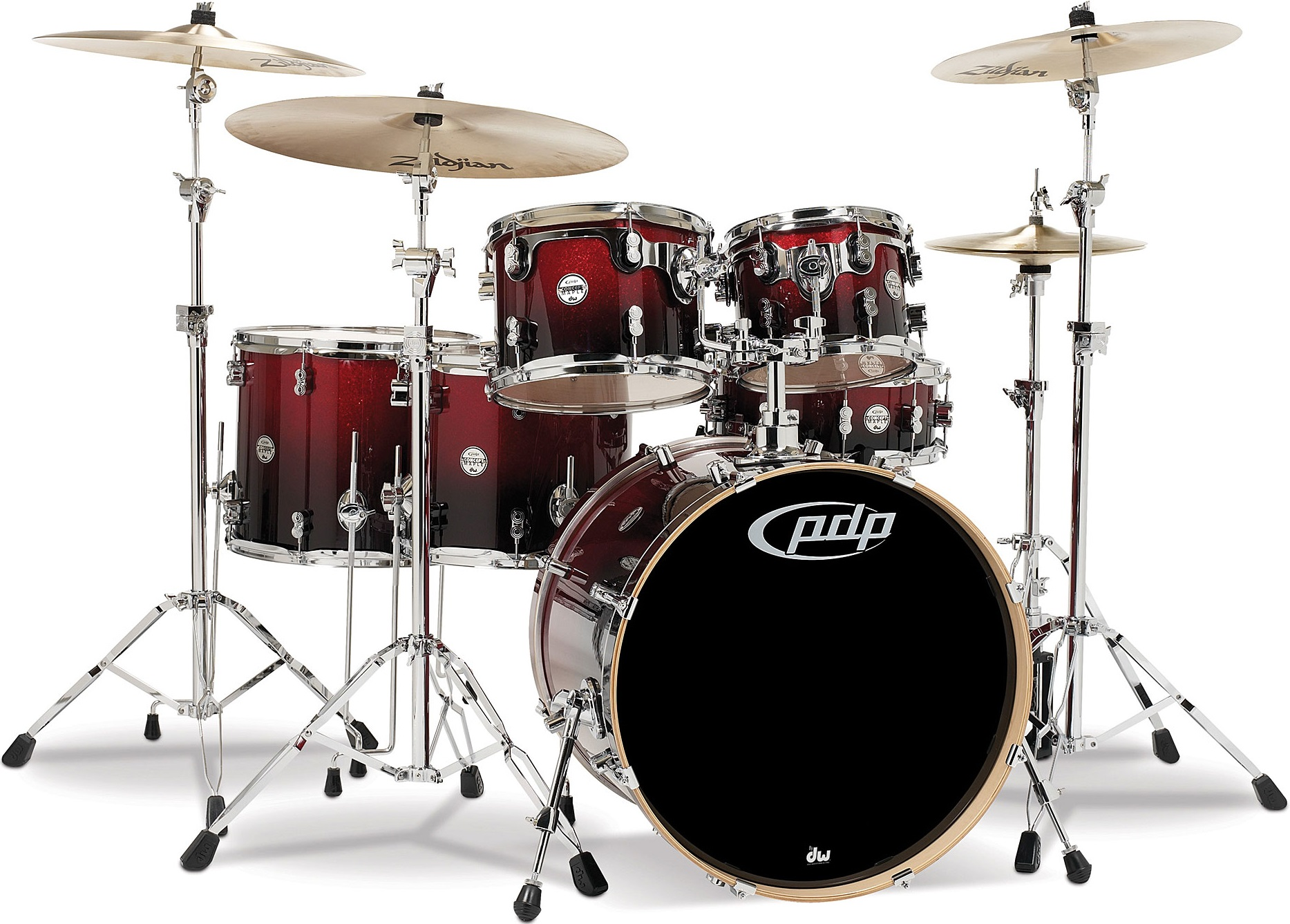 PDP Concept Maple CM6 Red to Black Fade