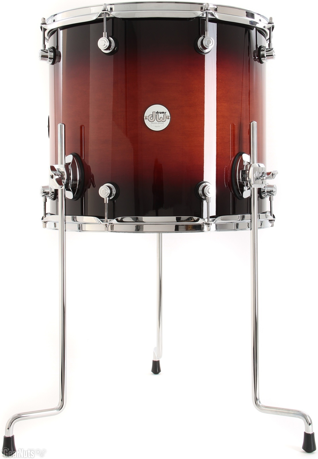 "DW 14""x12"" Design Series Tobacco Burst"
